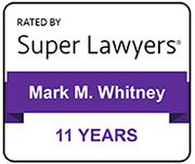 SuperLawyers Mark Whitney